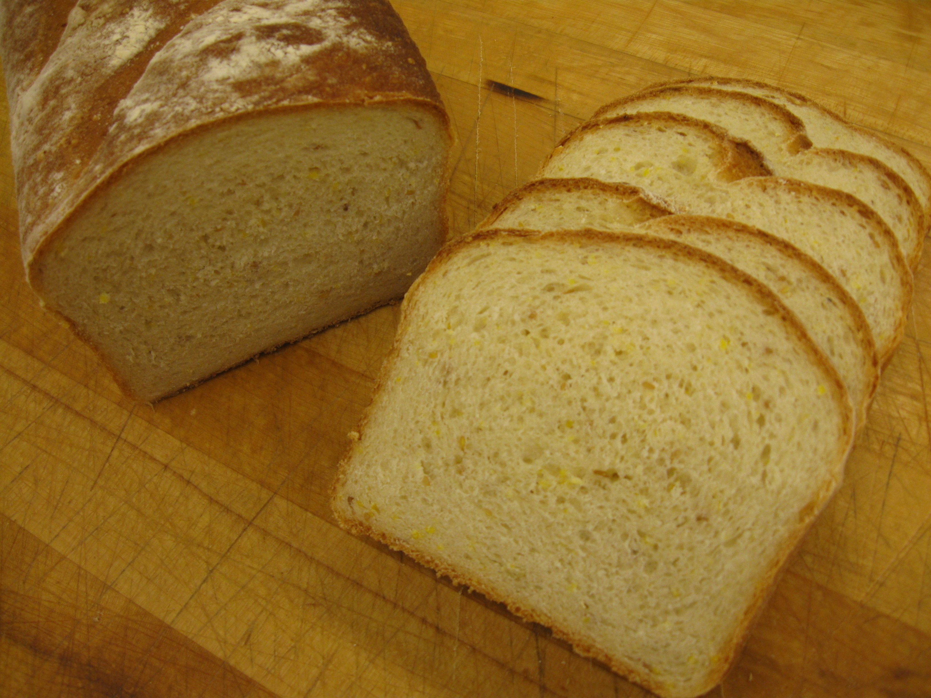 Gold Nugget Bread