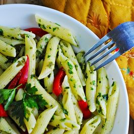 No Cook Herb Pasta sauce