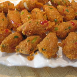 Kibbe Neye....Vegetarian Bulgur Torpedos
