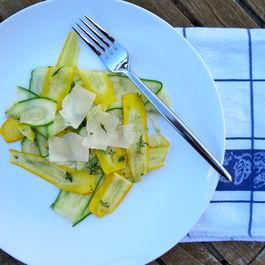 Zucchini Papardelle