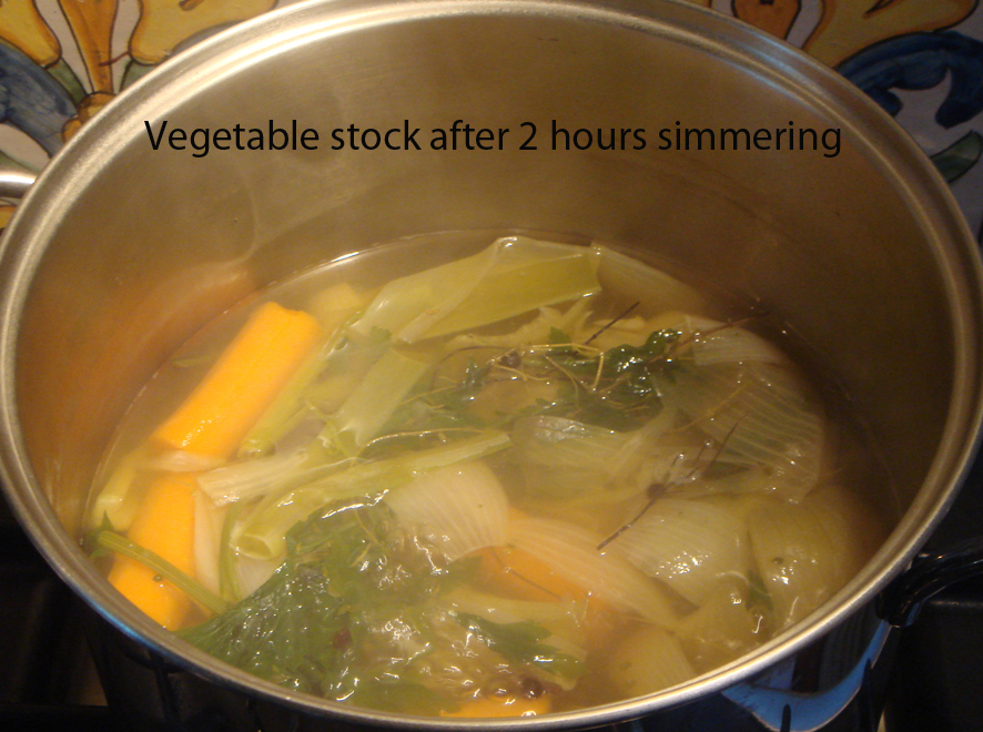 Easy Home Made Vegetable Stock