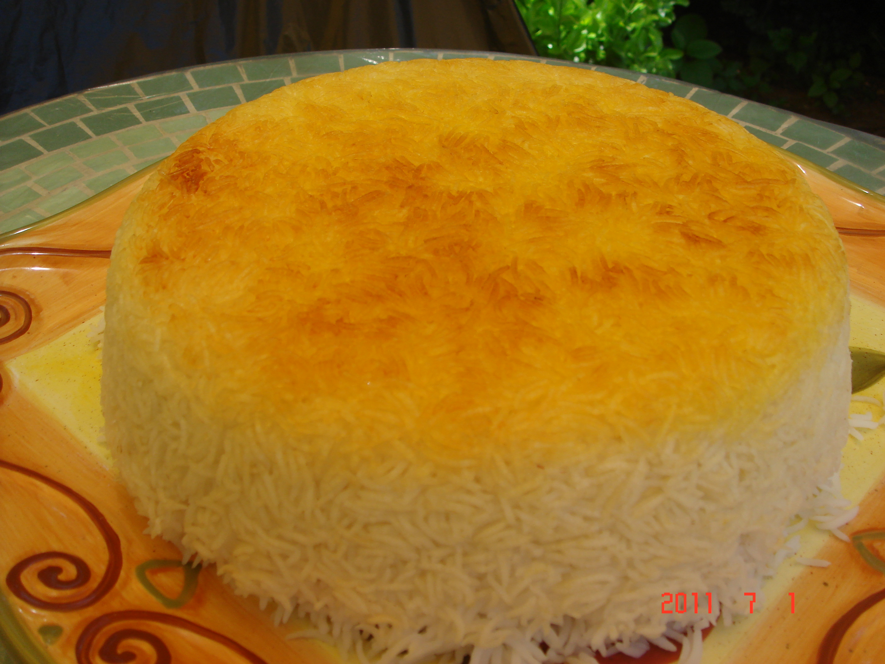 Basmati Rice (Iranian)with Tahdig