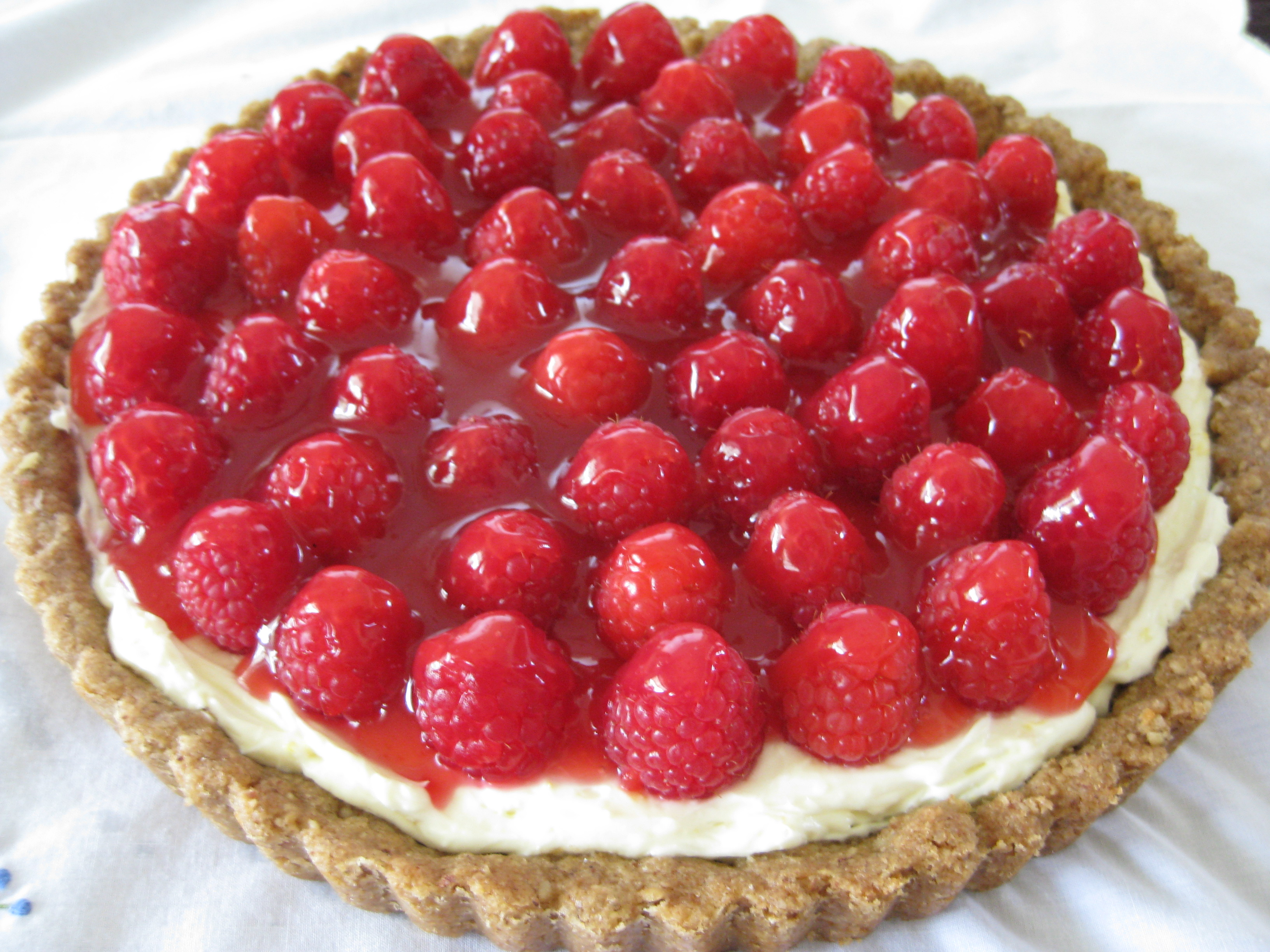 Raspberry Tart Recipe on Food52