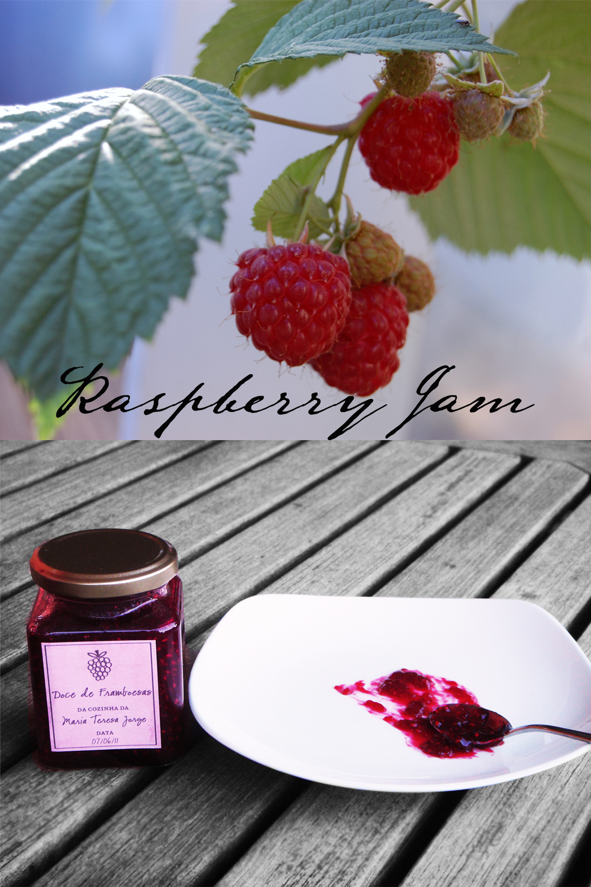 Ruby Red Raspberry Jam