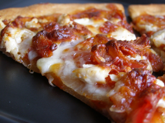 BBQ Chicken Pizza Recipe — Dishmaps