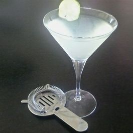 The Gin Gimlet Straight Up