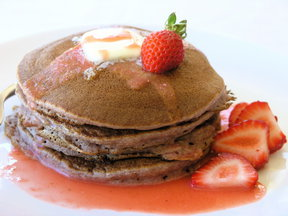 Platedpancakes