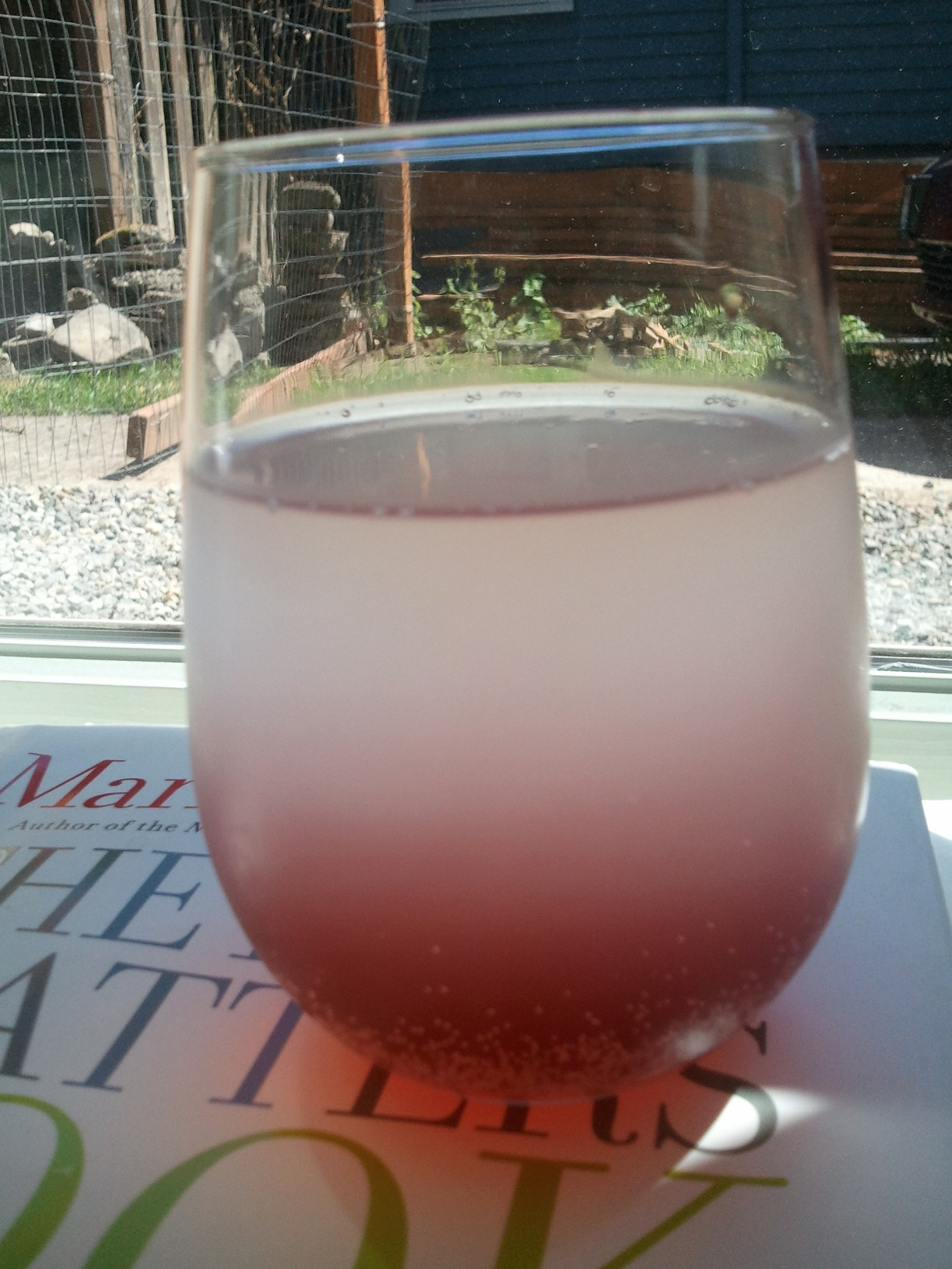 Vodka-Spiked Loganberry Lemonade