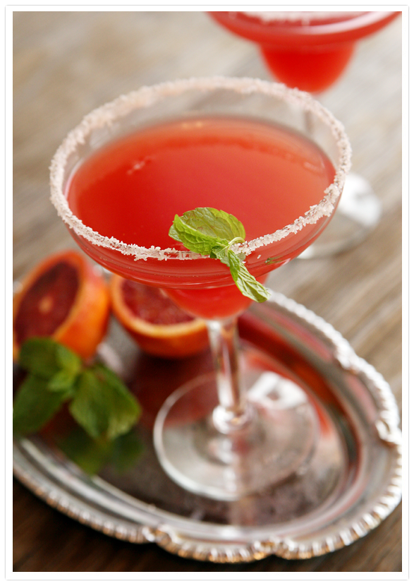Blood Orange Mezcal Margarita