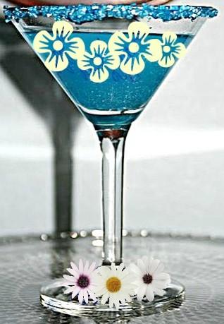 My Blue Heaven Martinis