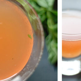 Basil-red-pepper-gin-summer-cocktail