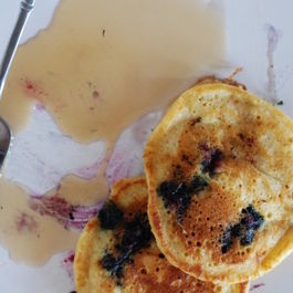 Blueberry Buttermilk Hotcakes