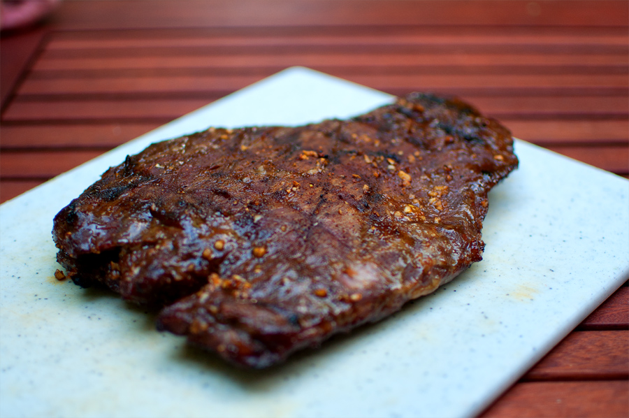 Sweet 'n' Sassy Grilled Flank Steak