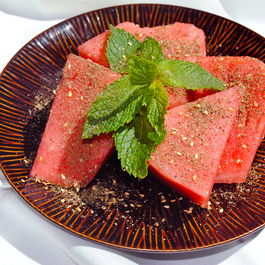 Watermelon with Za'atar
