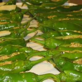 Super Hot Stuffed Green Peppers