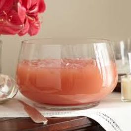 Spicy Melon Tequila Sunrise Punch