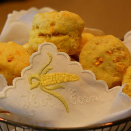 Fresh Corn Buttermilk Biscuits