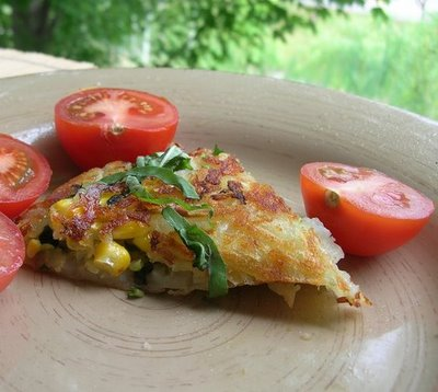 Summer Vegetable Roesti (Rosti)