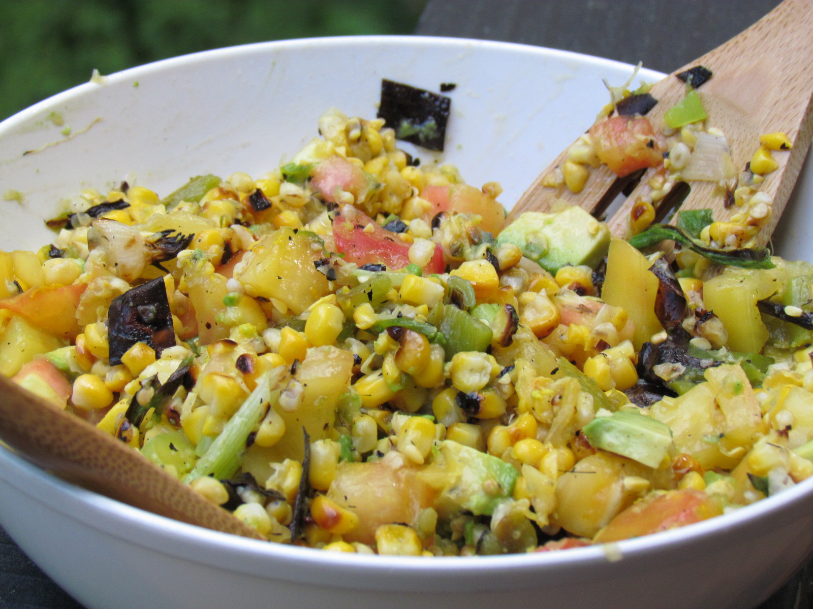 Grilled and Zesty Lime-Corn Salad