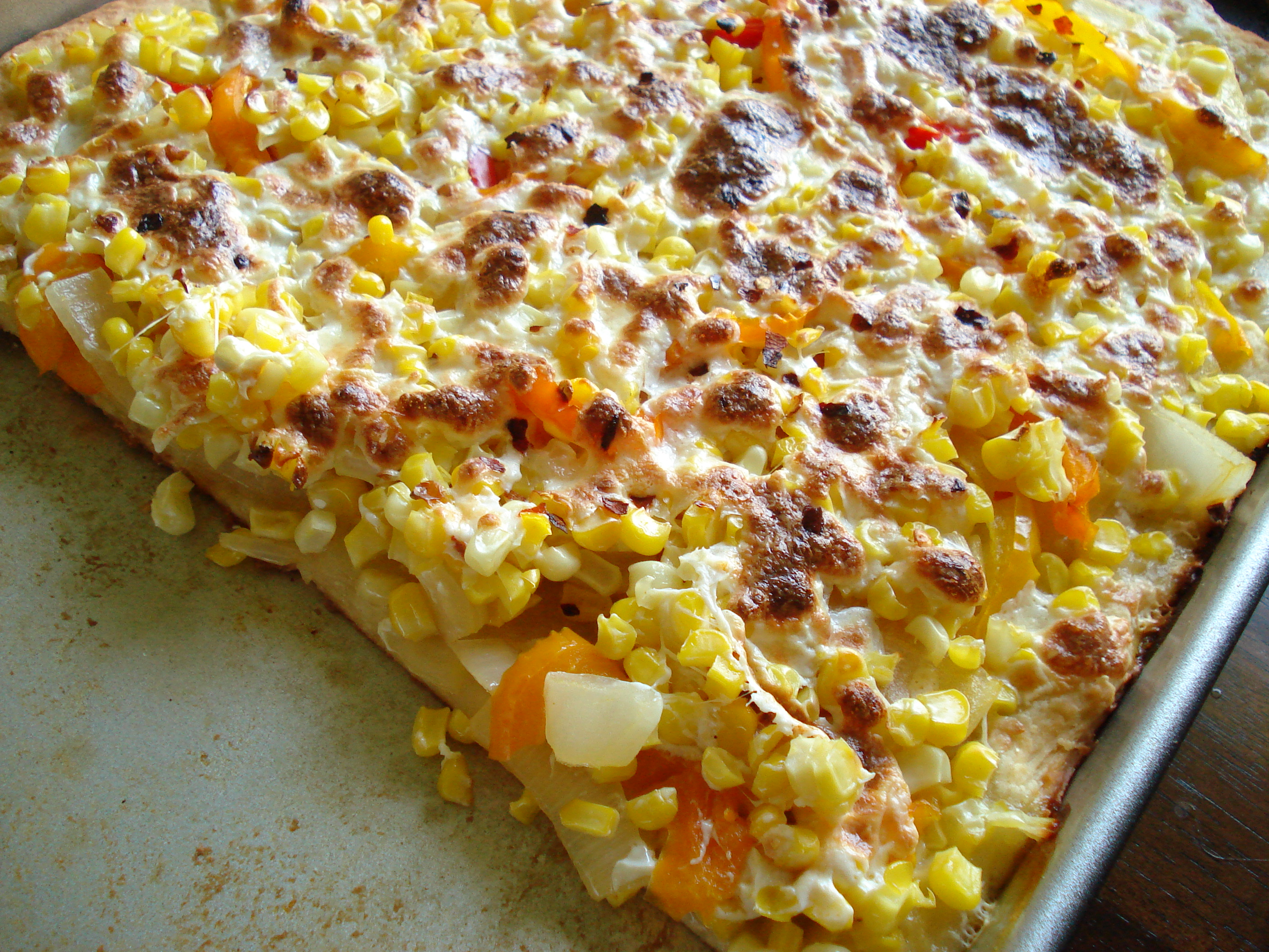 Summer Corn Pizza