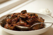 Purnima Garg's Eggplant and Tomato Curry