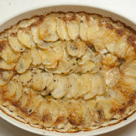 Potato Leek Au Gratin