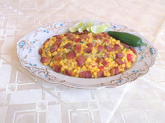 No Cream, Creamed-Corn with Bacon