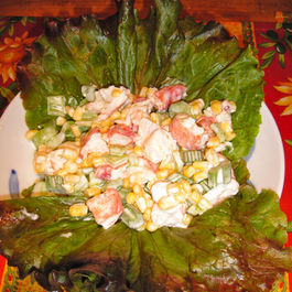 Cornlobstersalad
