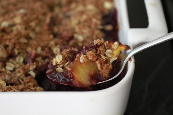Blueberry Peach Crisp