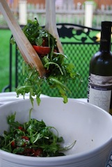 Arugula and Cherry Tomato Salad
