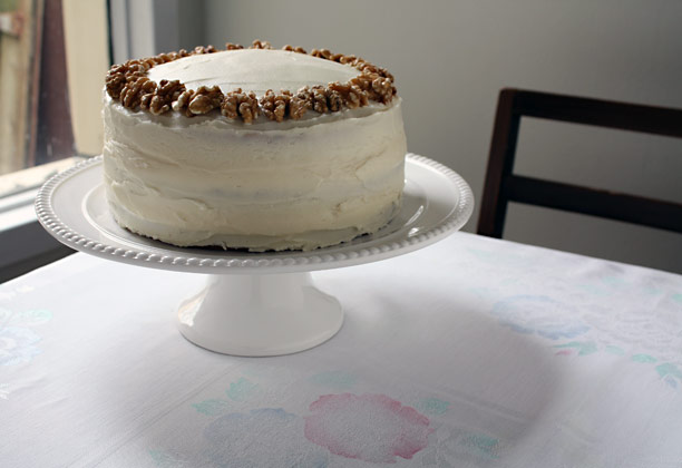 Butter-Toasted-Walnut Layer Cake