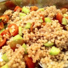 Garden Fresh Israeli Couscous