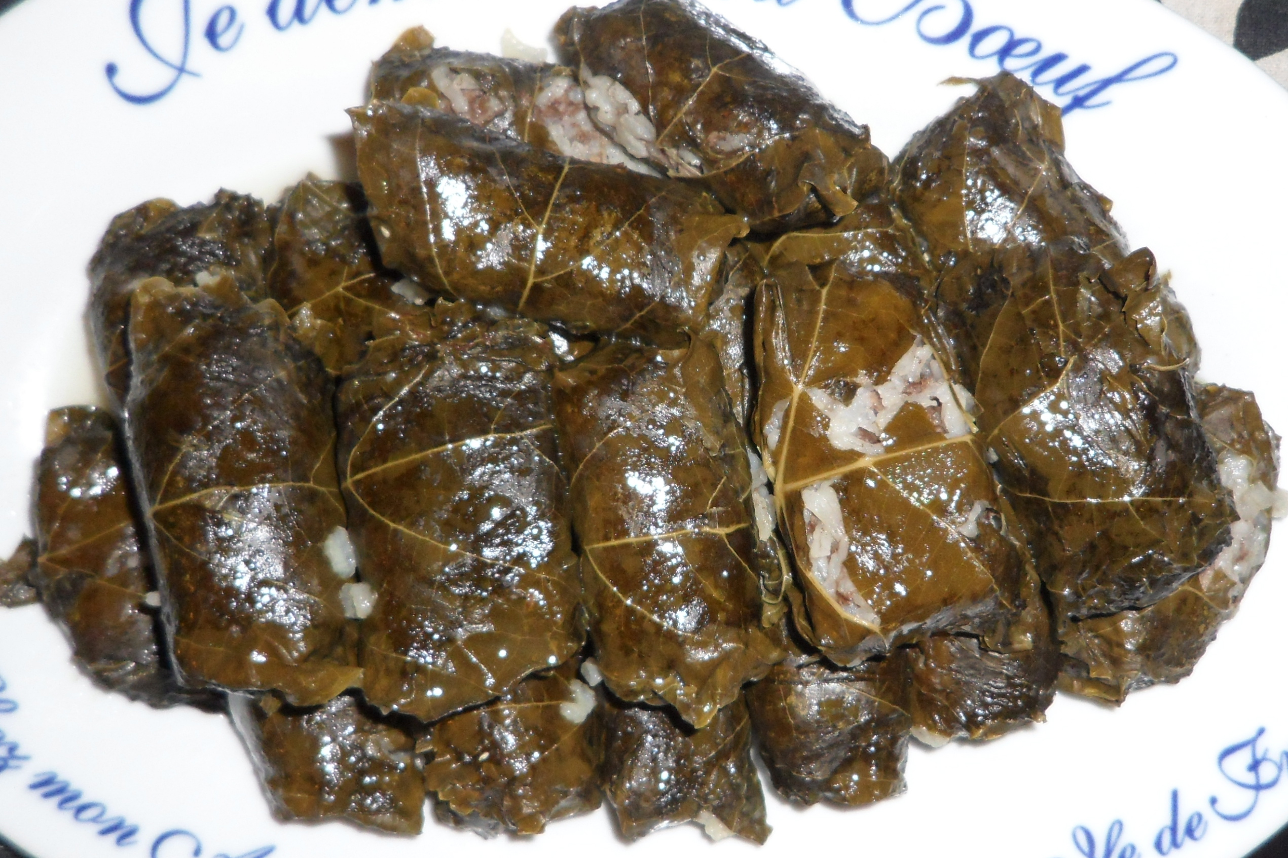 Stuffed Grape Leaves- Vegetarian