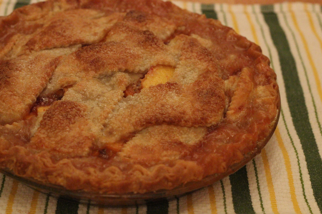 Just Peachy Pie
