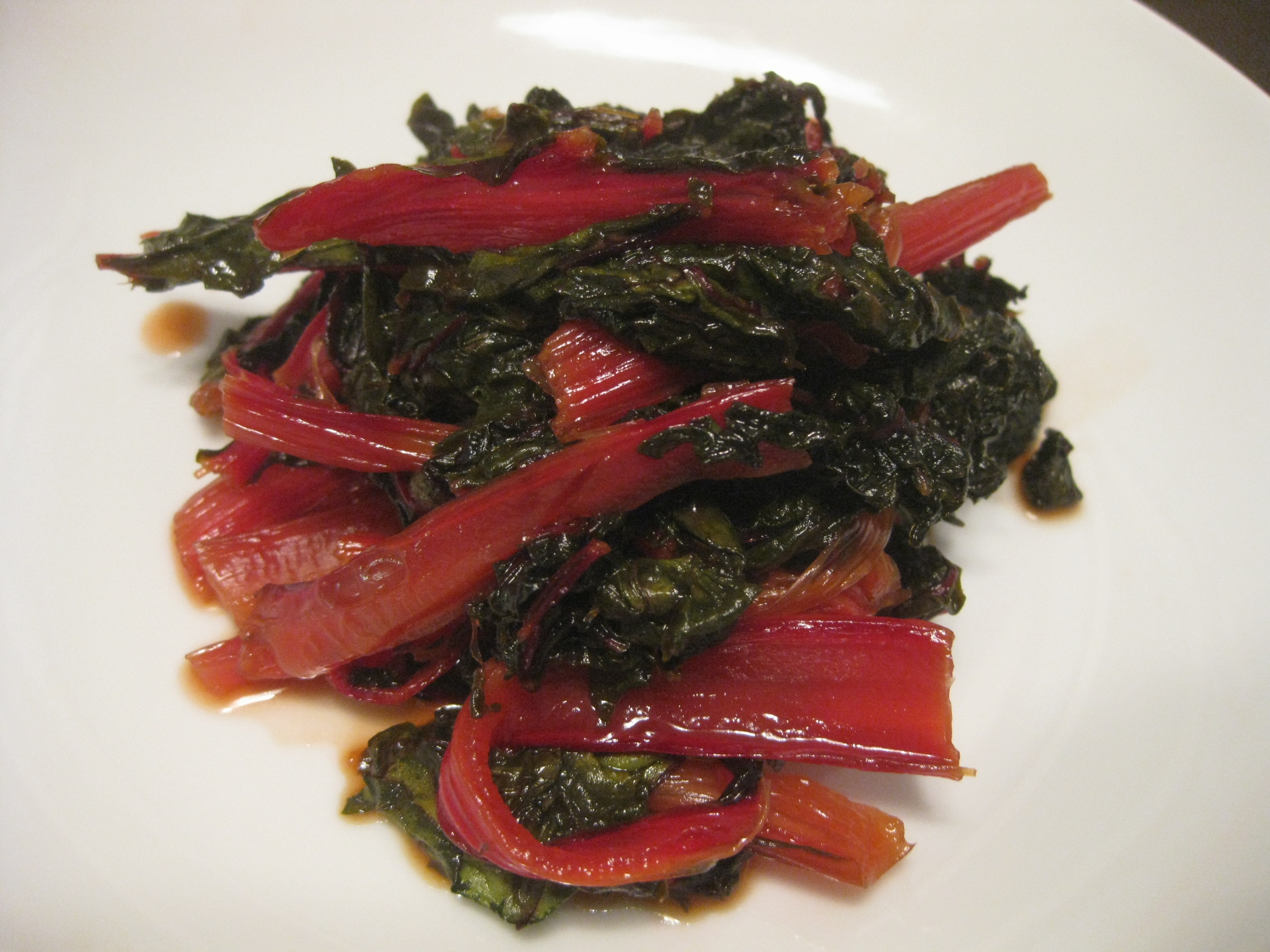 Swiss Chard Agrodolce