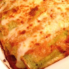 Green Cannelloni