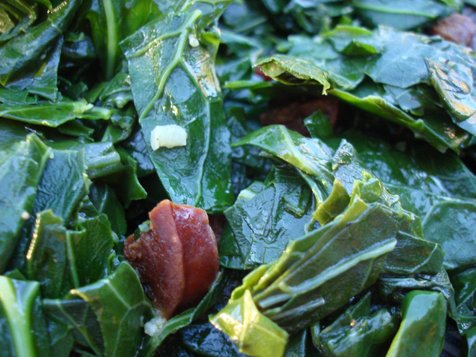 Collards & Chorizo