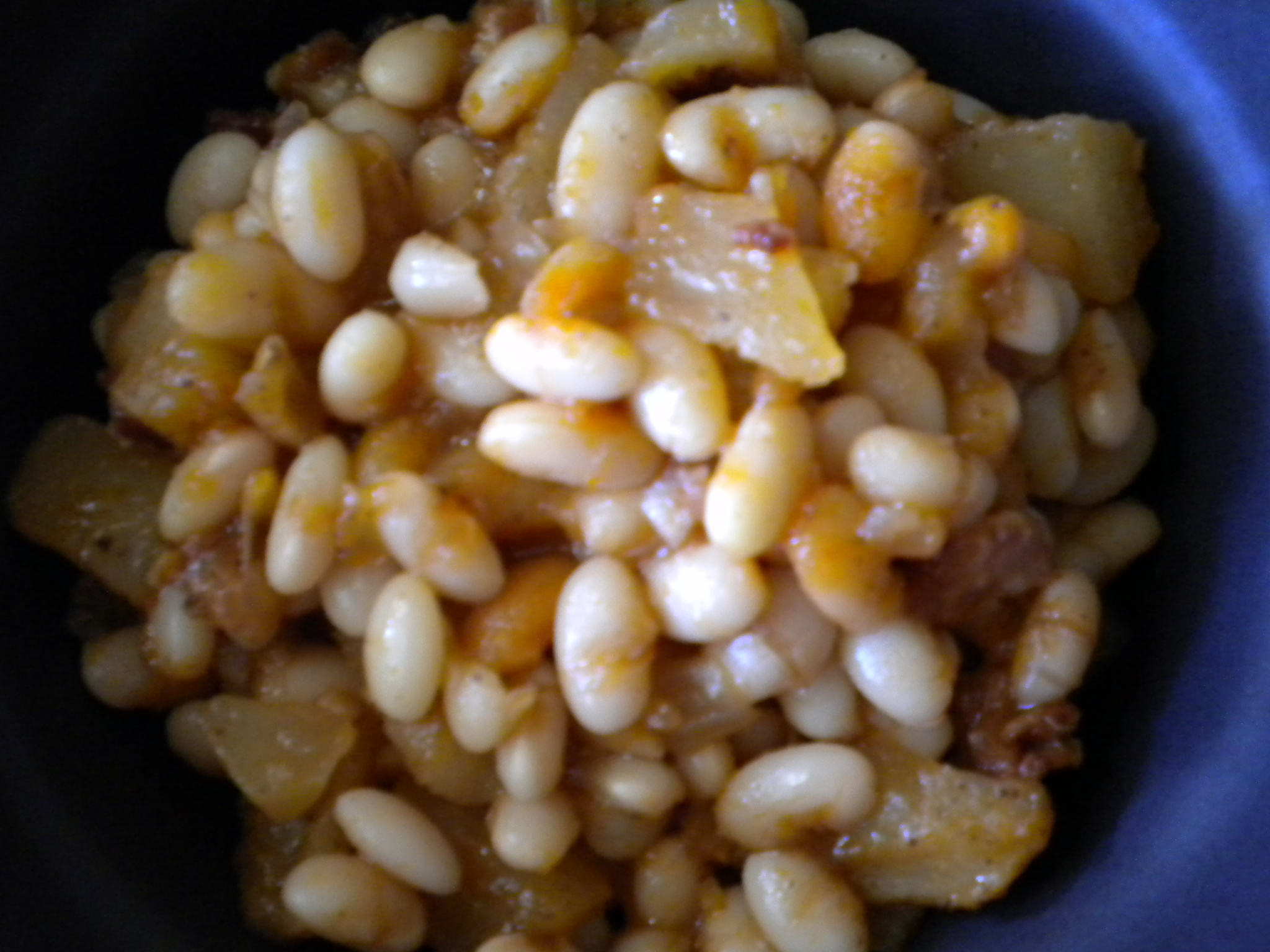 Pear and Bean Bake