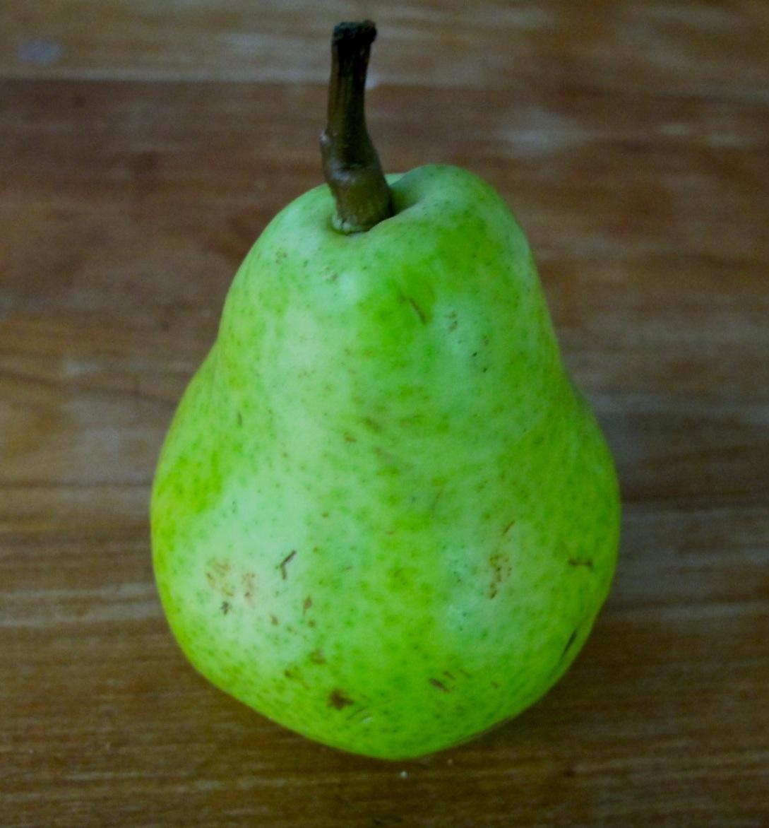 Braised Pears with Brandy Orange Sauce