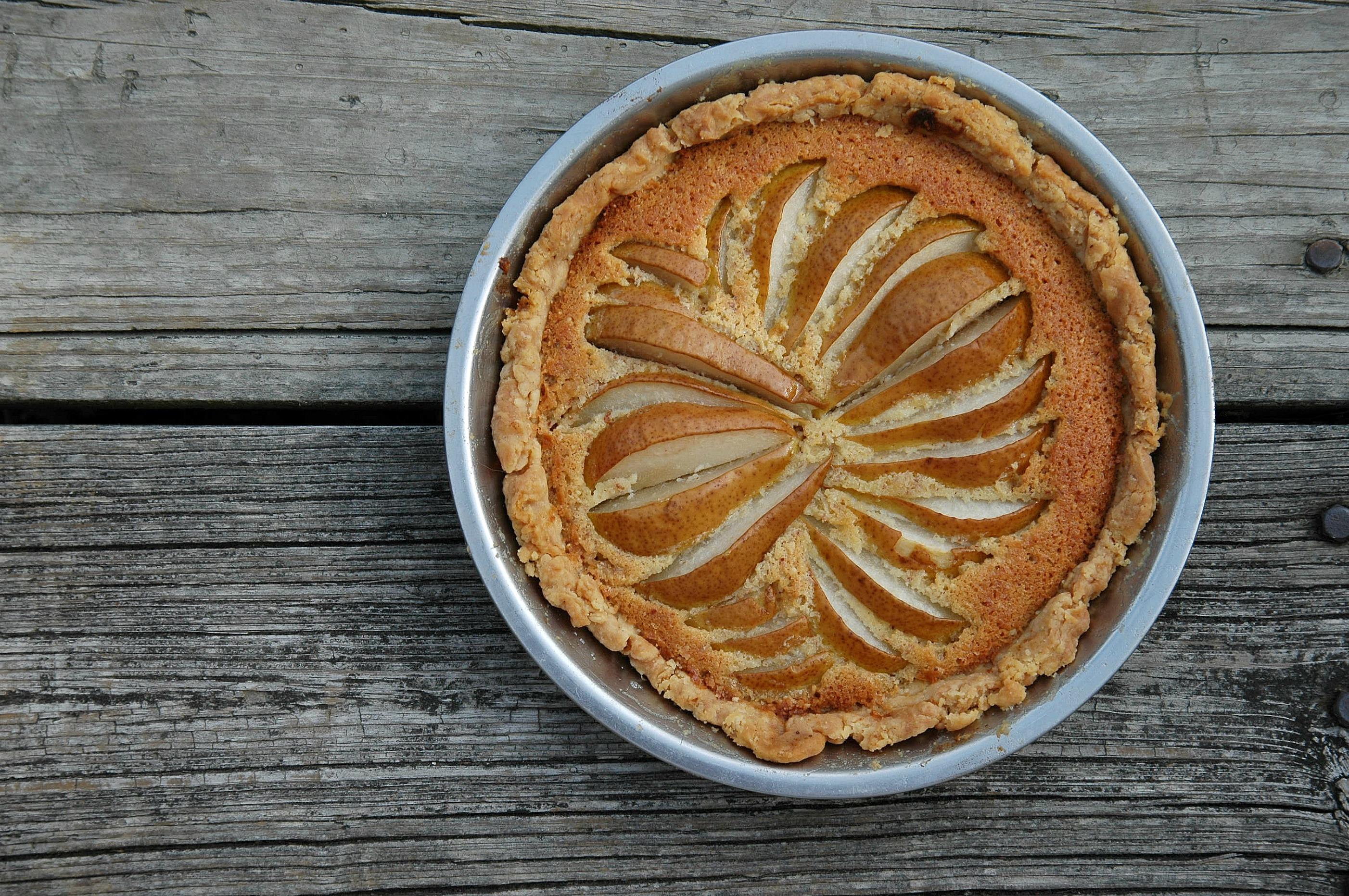 Pear Frangipane Pie