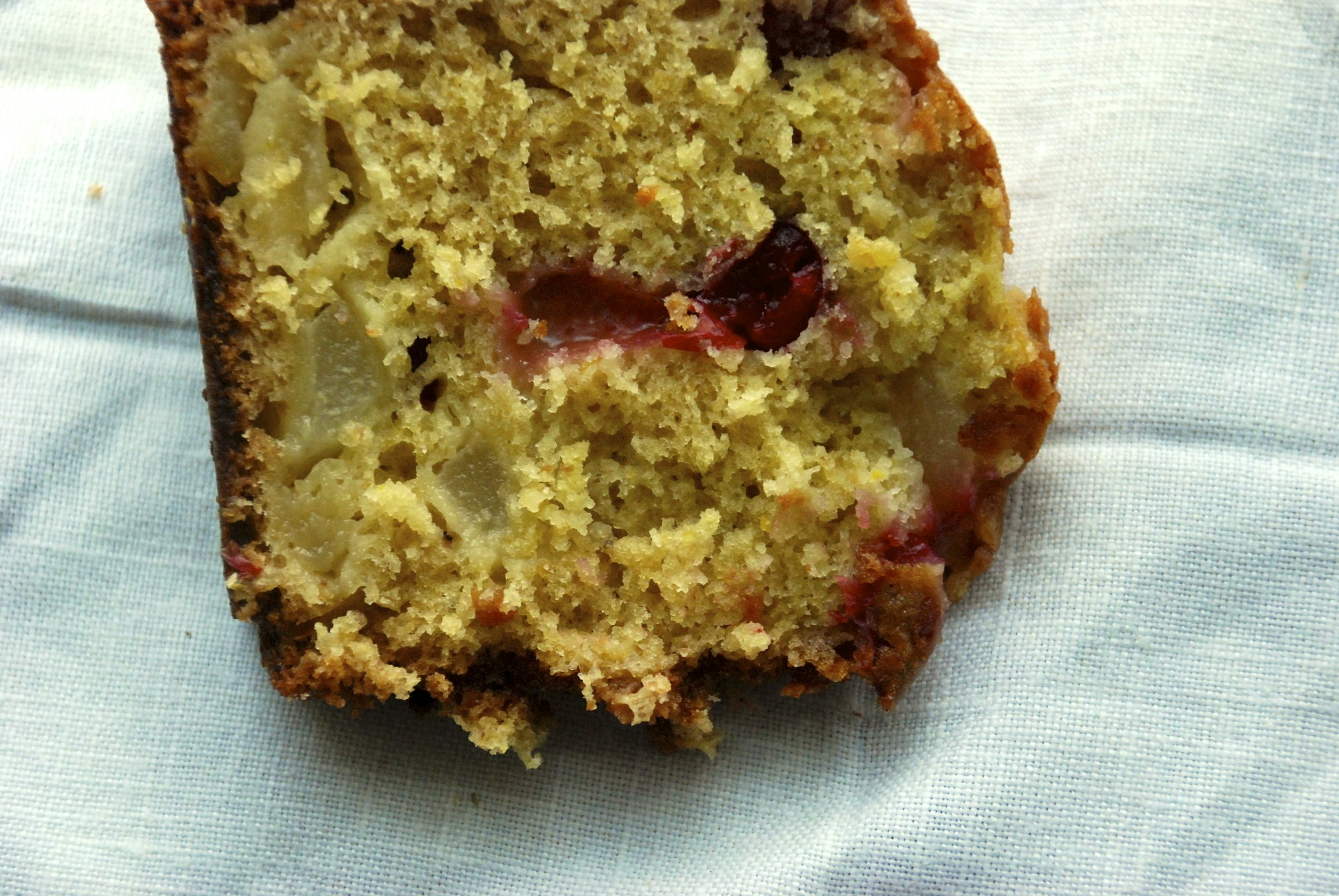 Pear and Cranberry Cake