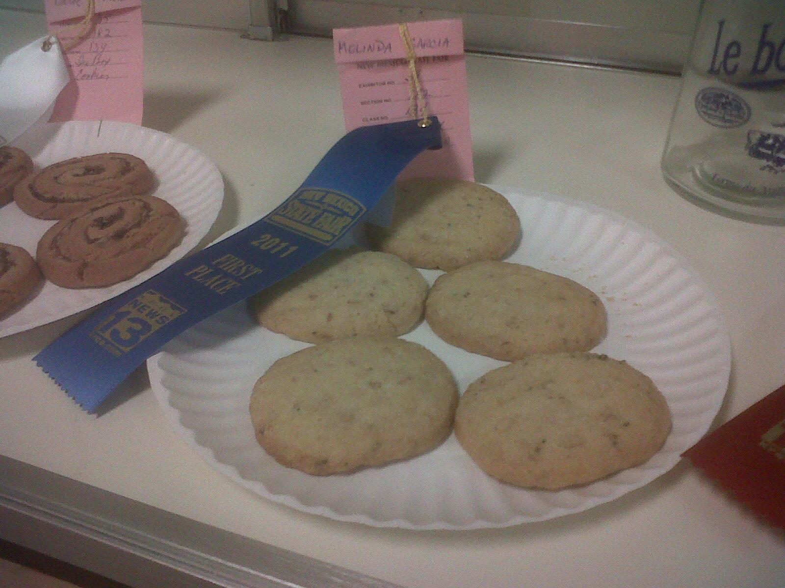 Rosemary Piñon Ice Box Cookies
