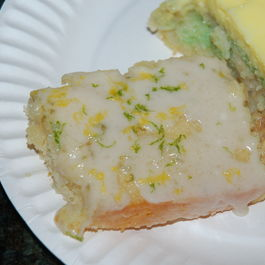 Lemon-Lime Glazed Cake