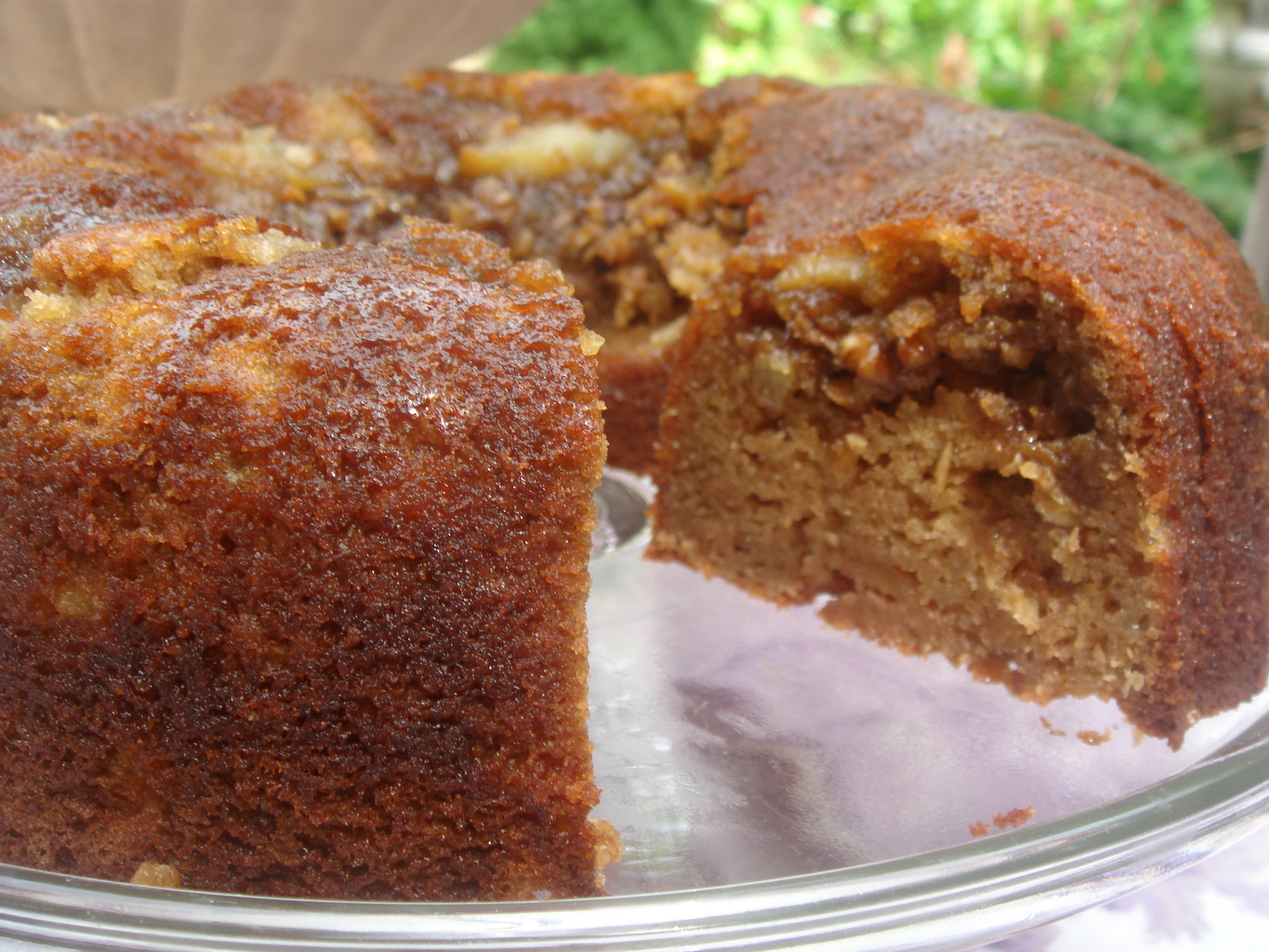 Applesauce Coffee Cake