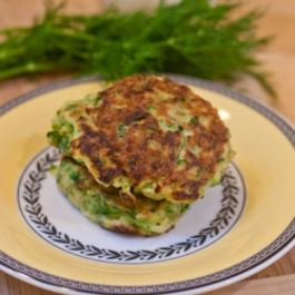 Zucchini Pancakes with Dill