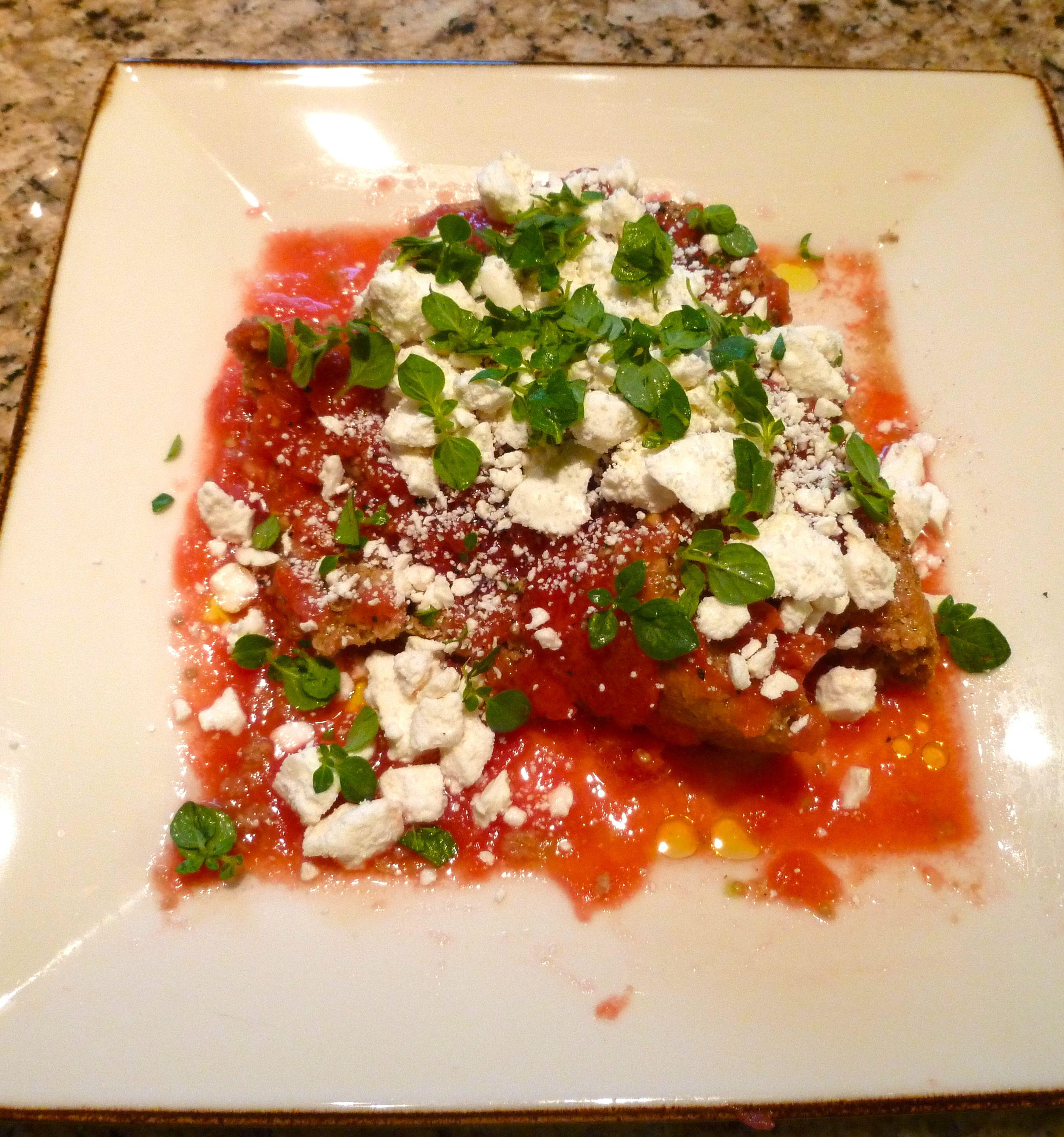 Cretan Tomato Salad