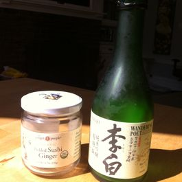 Pork Chops with Ginger Sake Sauce