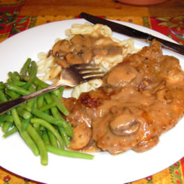 Chicken Breasts with Wild Mushrooms