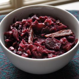 Red Wine Braise-Roasted Red Cabbage with Carrots and Beets