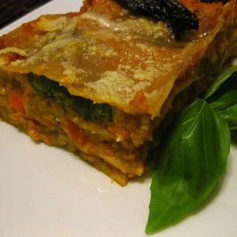 Roasted Carrot and Butternut Squash Lasagna